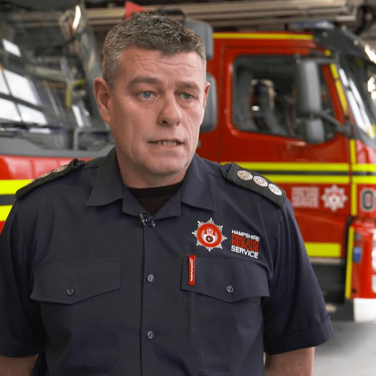 Keith Jones Basingstoke Firestation Commander,Event Filming,cassproductions,